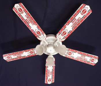 "Cincinnati Reds Baseball Ceiling Fan 52"""