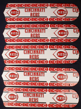 "Cincinnati Reds Baseball 52"" Ceiling Fan Blades"