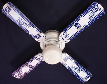 "Kansas City Royals Baseball Ceiling Fan 42"""