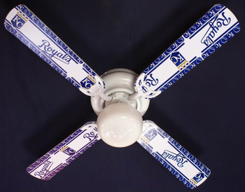 Kansas City Royals Baseball Ceiling Fan 42""