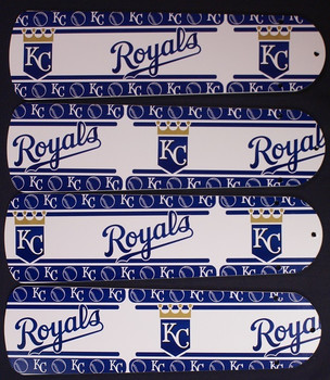 "Kansas City Royals Baseball Ceiling Fan 42"" Blades"