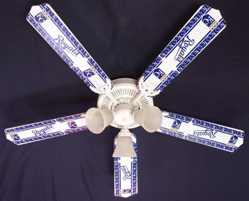 "Kansas City Royals Baseball Ceiling Fan 52"""