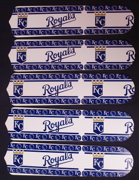"Kansas City Royals Baseball 52"" Ceiling Fan Blades"
