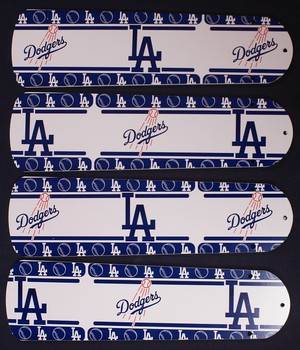 "LA Dodgers Baseball Ceiling Fan 42"" Blades"