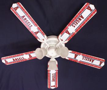 "Anaheim Angels Baseball Ceiling Fan 52"""