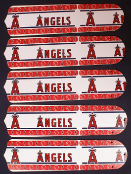 "Anaheim Angels Baseball 52"" Ceiling Fan Blades"