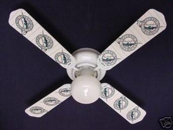 "Florida Marlins Baseball Ceiling Fan 42"""
