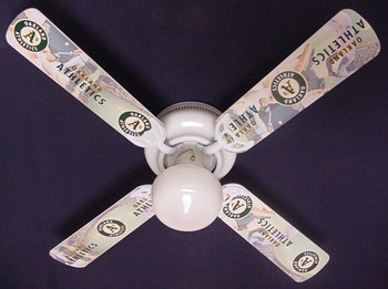Oakland Athletics Baseball Ceiling Fan 42""