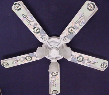 Oakland Athletics Baseball Ceiling Fan 52""