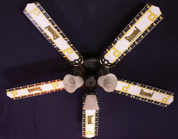 Pittsburgh Pirates Baseball Ceiling Fan 52""