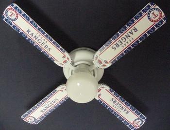 "Texas Rangers Baseball Ceiling Fan 42"""