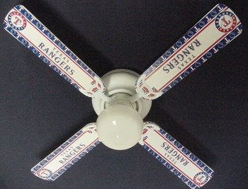 Texas Rangers Baseball Ceiling Fan 42""