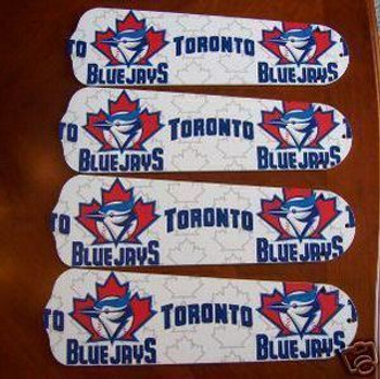 "Toronto Blue Jays Baseball Ceiling Fan 42"" Blades"