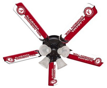Alabama Crimson Tide Ceiling Fan 52""