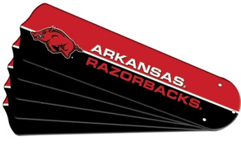 Arkansas Razerbacks Ceiling Fan Blades