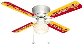 "NCAA Iowa State Cyclones 42"" Ceiling Fan"