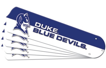 "NCAA Duke Blue Devils Ceiling Fan Blades For 52"" Fans"