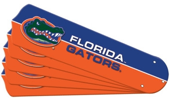 "NCAA Florida Gators Ceiling Fan Blades For 52"" Fans"