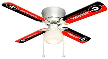 "NCAA Georgia Bulldogs 42"" Ceiling Fan"