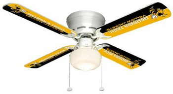 "NCAA Georgia Tech Yellow Jackets 42"" Ceiling Fan"