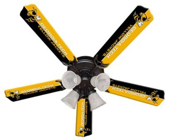 "NCAA Georgia Tech Yellow Jackets 52"" Ceiling Fan"