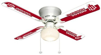 "NCAA Indiana Hoosiers 42"" Ceiling Fan"