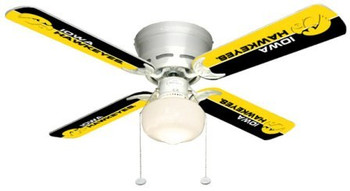 "NCAA Iowa Hawkeyes 42"" Ceiling Fan"