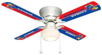 "NCAA Kansas Jayhawks 42"" Ceiling Fan"