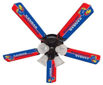 "NCAA Kansas Jayhawks 52"" Ceiling Fan"