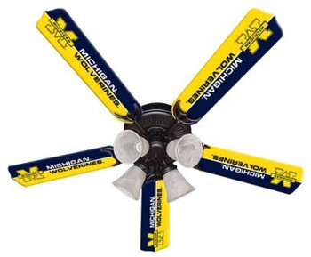 "NCAA Michigan Wolverines 52"" Ceiling Fan"