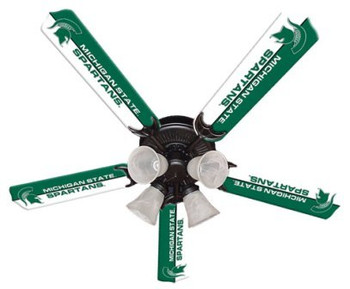 "NCAA Michigan State Spartans 52"" Ceiling Fan"