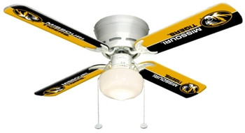"NCAA Missouri Tigers 42"" Ceiling Fan"