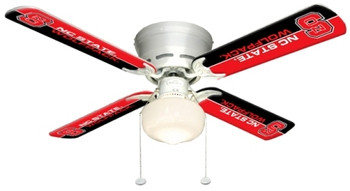 "NCAA NC State Wolfpack 42"" Ceiling Fan"