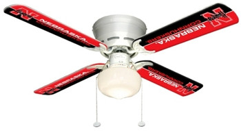 "NCAA Nebraska Cornhuskers 42"" Ceiling Fan"