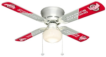 "NCAA Ohio State Buckeyes 42"" Ceiling Fan"