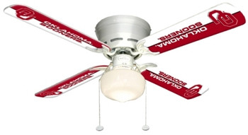 "NCAA Oklahoma Sooners 42"" Ceiling Fan"