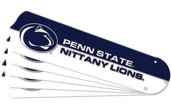"""NCAA Penn State Nittany Lions Ceiling Fan Blades For 42"""" Fans"""