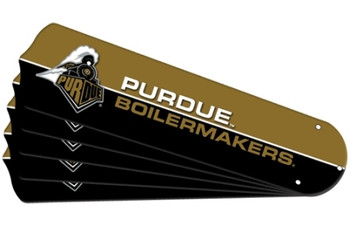 "NCAA Purdue Boilermakers Lions Ceiling Fan Blades For 52"" Fans"