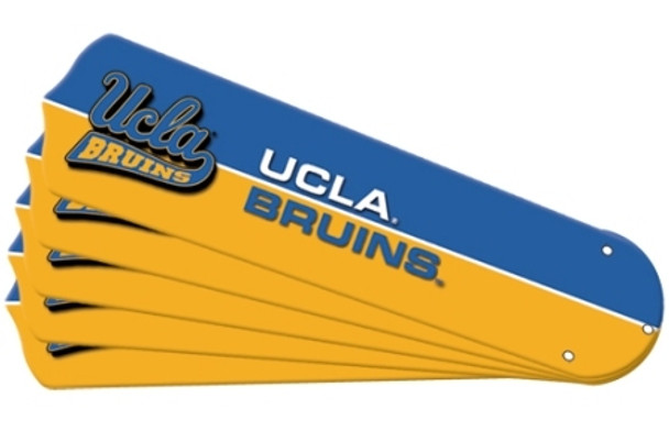 "NCAA UCLA Bruins Ceiling Fan Blades For 42"" Fans"
