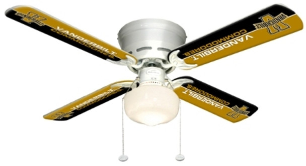 "NCAA Vanderbuilt Commodores 42"" Ceiling Fan"