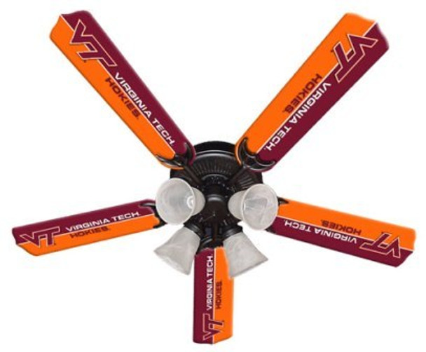 "NCAA Virginia Tech Hokies 52"" Ceiling Fan"