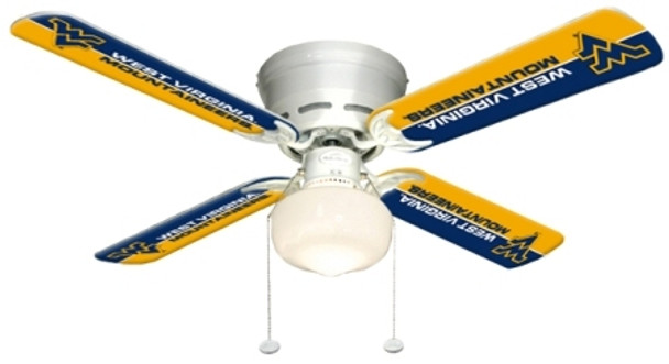 "NCAA West Virginia Mountaineers 42"" Ceiling Fan"