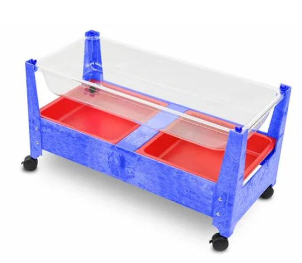 Blue Deluxe Sand and Water Activity Center