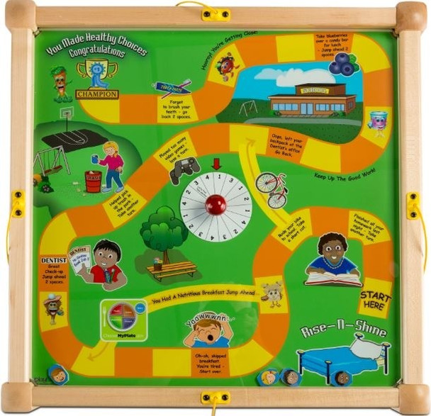 Play-From-The-Top Healthy Race Activity Table