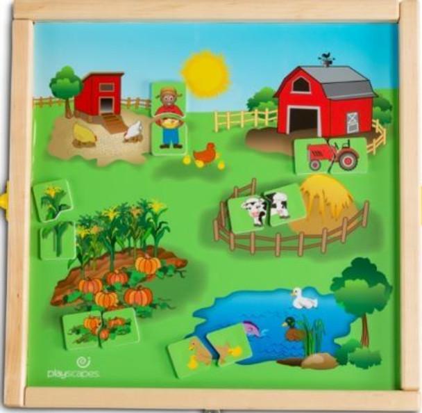 Animal Farm Magnetic Wall Game