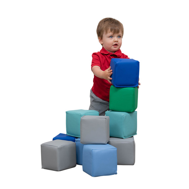 Toddler Baby Blocks – Contemporary Set of 12