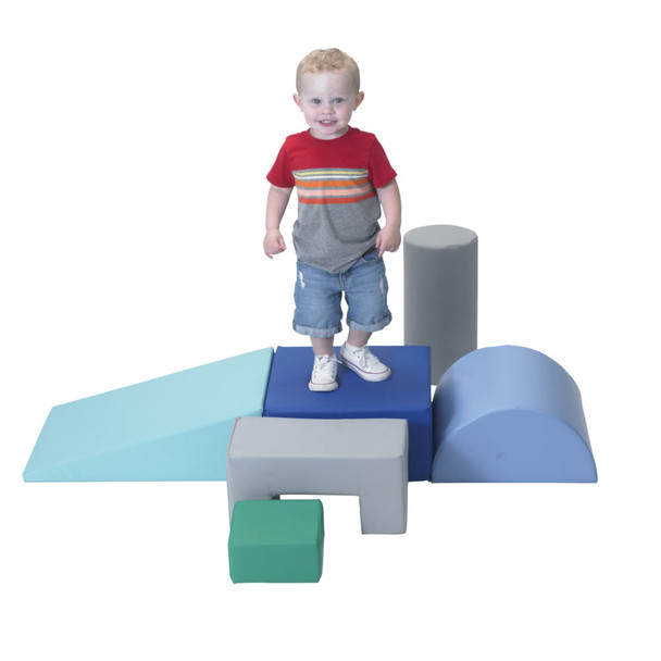 Climb and Play 6 Piece Play Set – Contemporary