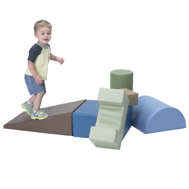 Climb and Play 6 Piece Play Set – Woodland