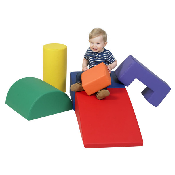 Climb and Play 6 Piece Play Set – Primary
