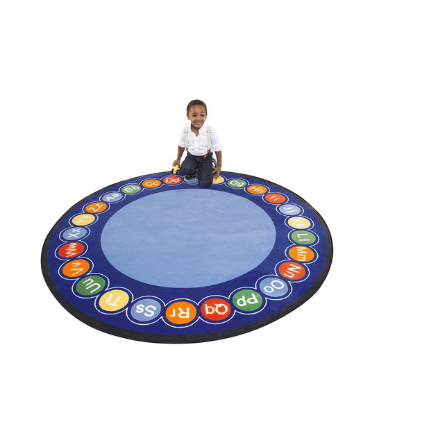 ABC Rotary - Round Large Rug